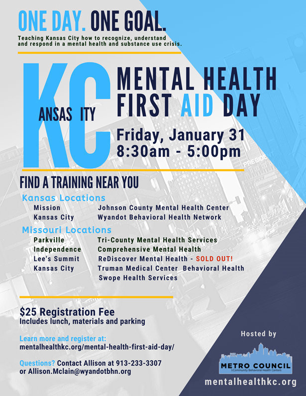 2020 Mental Health First Aid Day flyer 1